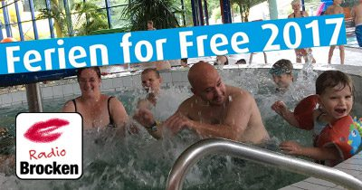 Ferien for free Aktion mit Radio Brocken voller Erfolg