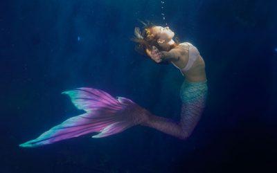 Meerjungfrauen Schwimmkurse am 9. Februar